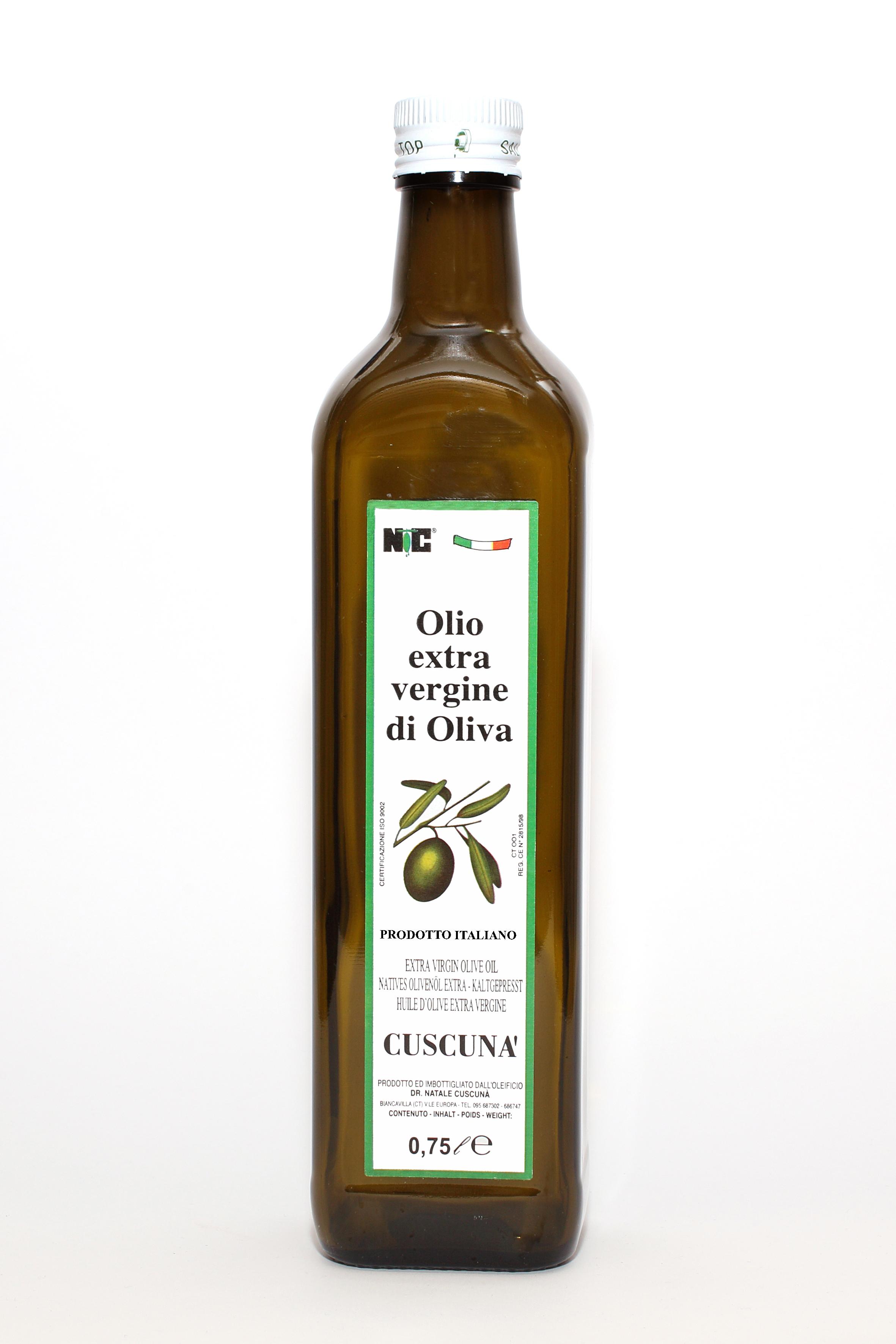 Olio evo siciliano 075lt