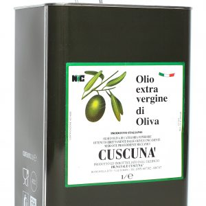 Olio EVO Cuscunà 3lt