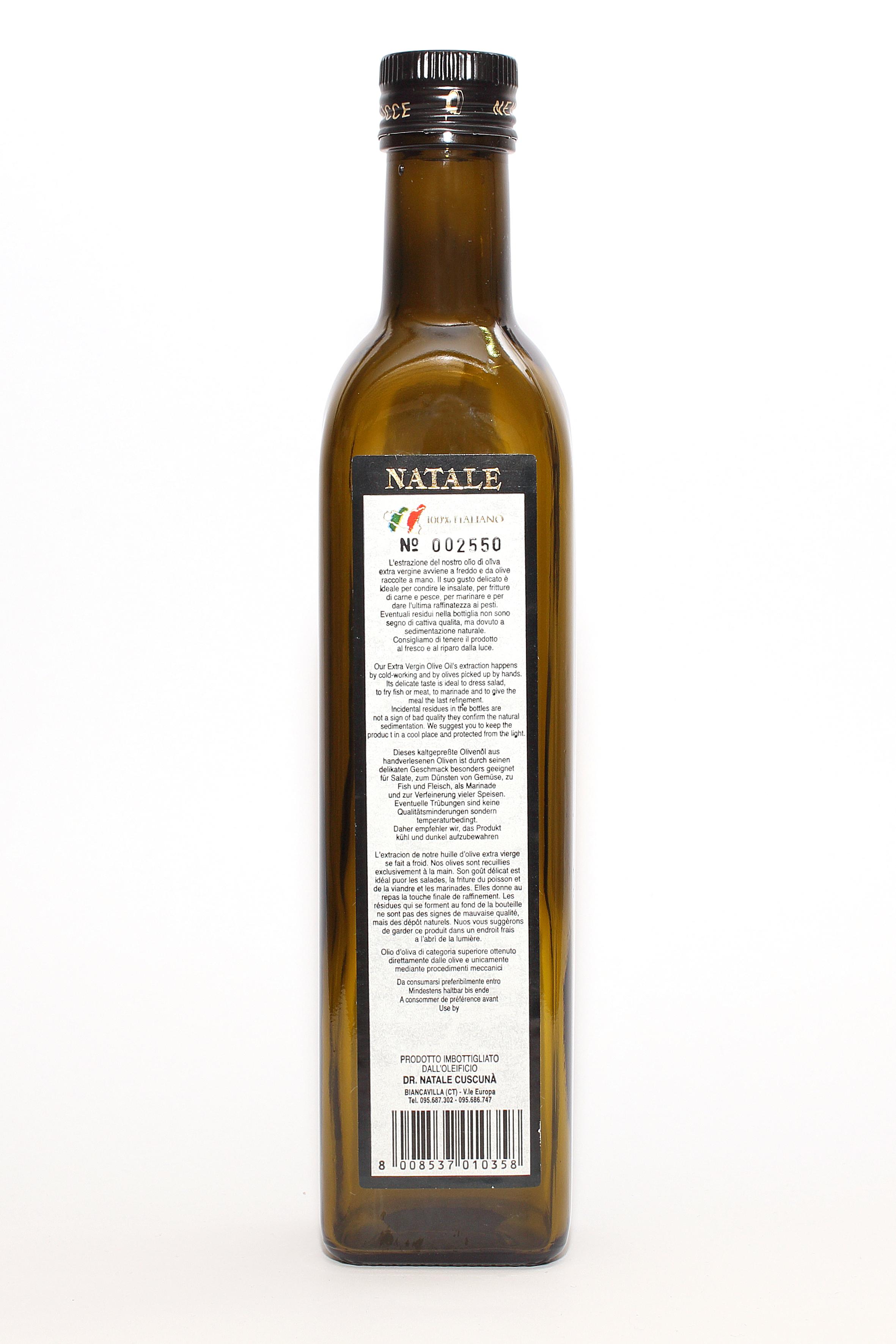 Olio extra vergine da 0,50