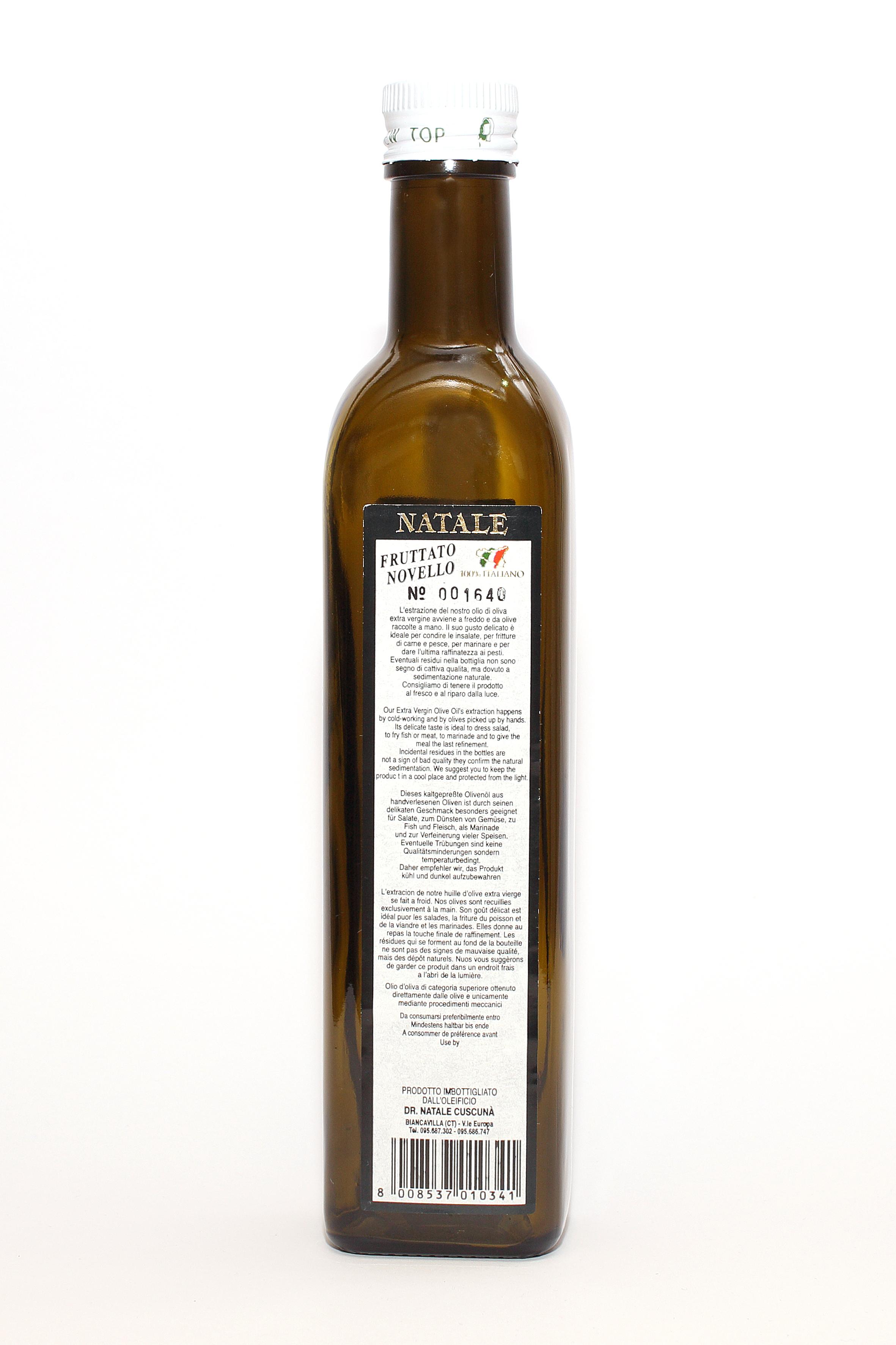 evo oil Fruttato Novello 050